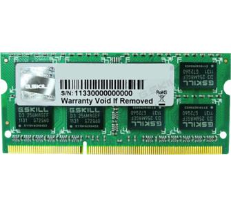 G.Skill Arbeitsspeicher SO-DIMM 4GB DDR3-1333