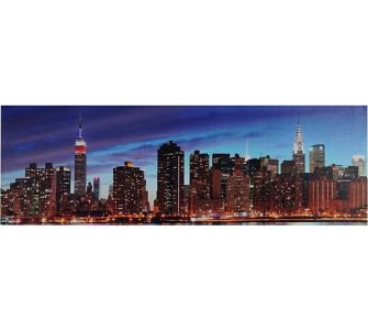 heute-wohnen LED-Bild mit Beleuchtung, Leinwandbild Leuchtbild Wandbil