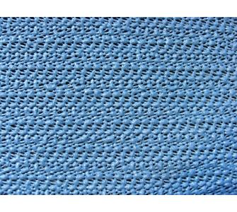 Grasekamp Tischdecke aus Schaumstoff 160x210cm oval grau/blau