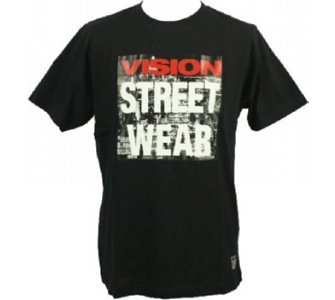 Vision Street Wear Highrise T-Shirt Tee Skateboarding Skate Men Kult