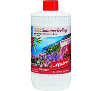 Ballistol MAIROL Premium Mediterraner Dünger Sommerfeeling Liquid, 1.000 ml