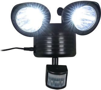 Insatech Solar LED Wandfluter mit Bewegungsmelder Solarflluter mit Sen
