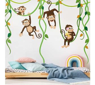 Wandtattoo dschungel preisvergleiche erfahrungsberichte und kauf bei nextag - Babyzimmer jungle ...