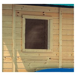 Karibu Fenster feststehend für 14 mm Garten- und Gerätehäuser