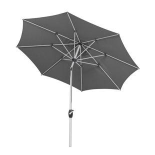 Schneider Sonnenschirm Venedig grau, Ø 270 cm