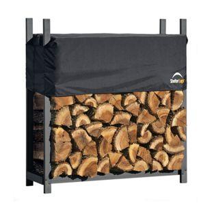 ShelterLogic® Kaminholzregal 120 cm mit Cover