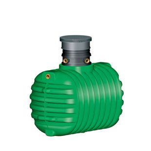 Garantia Cristall Erdtank 1600 L befahrbar grün