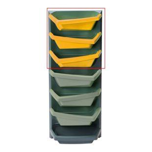 Juwel Vertical-Garden Aufbauelement safrangelb