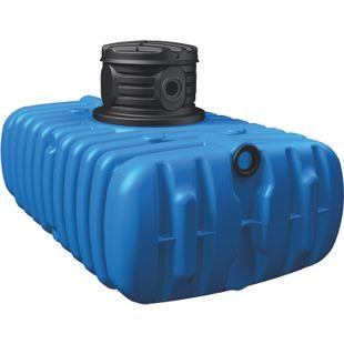 4rain FLAT Flachtank inkl. Schachtverlängerung 1.500 Liter