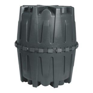 Garantia HERKULES Abwasser-Sammelgrube 1.600 L schwarz mit DIBt-Zulassung