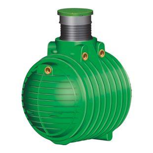 Garantia COLUMBUS Abwasser-Sammelgrube 3.700 L grün