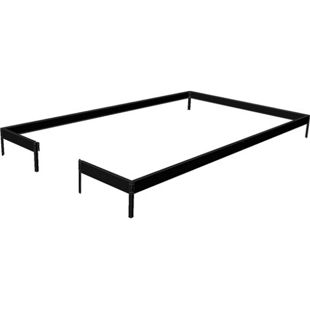 Juliana Compact 5,0 m² Gewächshaus-Fundament - schwarz