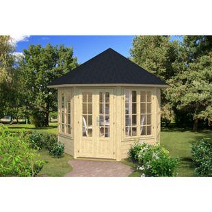 Tene Kaubandus Louise 4F 40 mm Gartenpavillon inkl. Fußboden