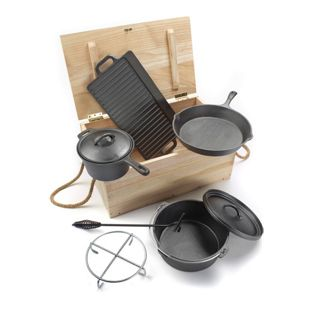 El Fuego AY 466 Dutch Oven Set, 7-teilig