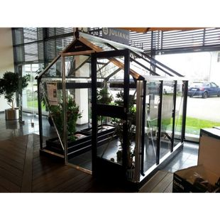 Juliana Compact 5,0 m² Gewächshaus mit 3 mm Sicherheitsglas