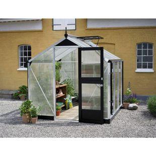 Juliana Compact 5,0 m² Gewächshaus mit 10 mm Hohlkammerplatten