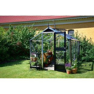 Juliana Compact 6,6 m² Gewächshaus mit 3 mm Sicherheitsglas
