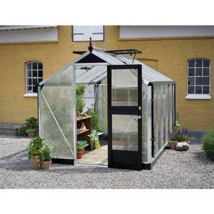 Juliana Compact 8,2 m² Gewächshaus mit 10 mm Hohlkammerplatten
