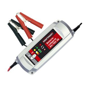 Dino 136301 Kraftpaket 6/12V 3A Batterieladegerät 3-Stufen