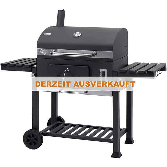 tepro toronto xxl holzkohle grillwagen mit grillrosteinsatz online kaufen. Black Bedroom Furniture Sets. Home Design Ideas