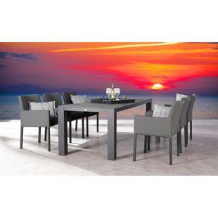 Best Freizeitmöbel Tischgruppe Livorno 7-teilig