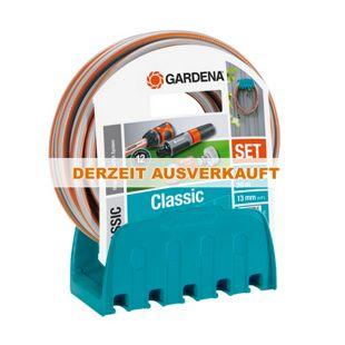 Gardena 18005-50 Wandschlauchhalter + 20 m Schlauch