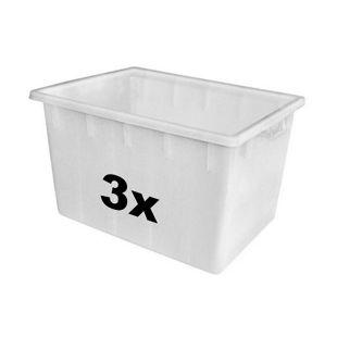 BRB 55346 Universal-Behälter-Set 170 Liter