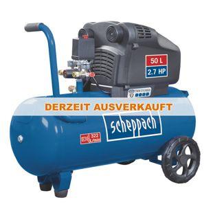 Scheppach HC54DC Doppelzylinder-Kompressor, ölfrei