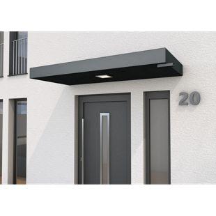Gutta BS PLUS 200 Rechteckvordach mit Wasserspeier rechts