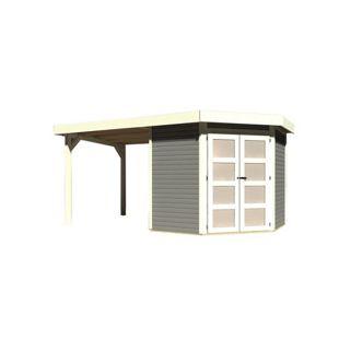 Karibu Gerätehaus Kolm 3 Set 2, terragrau