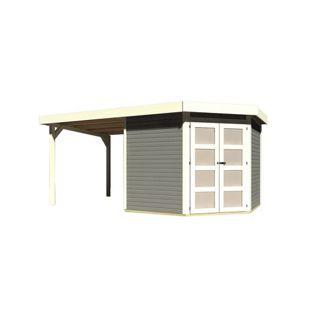 Karibu Gerätehaus Kolm 5 Set 2, terragrau