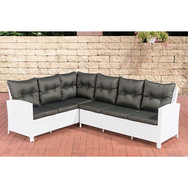clp polyrattan gartensofa bermeo inklusive polsterauflagen i sitzgruppe mit 6 sitzpl tzen i. Black Bedroom Furniture Sets. Home Design Ideas