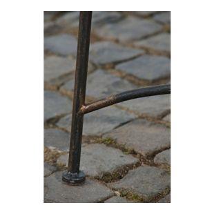CLP Gartenbank TARA aus lackiertem Eisen I Sitzbank im Jugendstil I Eisenbank mit 2-3 Sitzplätzen I In verschiedenen Farben erhältlich
