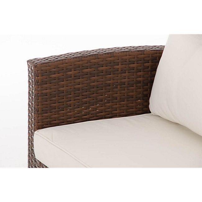 clp polyrattan sitzgruppe vicenta inklusive polsterauflagen garten set bestehend aus einem. Black Bedroom Furniture Sets. Home Design Ideas