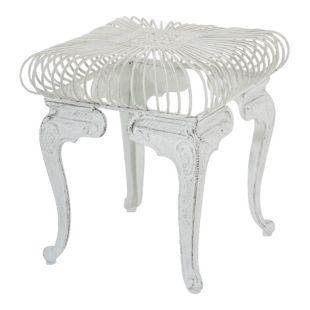 CLP Eisentisch MELLE im Jugendstil I Robuster Gartentisch mit kunstvollen Verzierungen I In verschiedenen Farben erhältlich