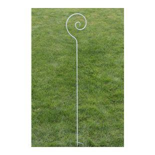 CLP Pflanzen-Rankstab SILLA aus Eisen I Rankhilfe mit einer Höhe von 148 cm I Rankstange für Kletterpflanzen I In vielen verschiedenen Farben erhältlich