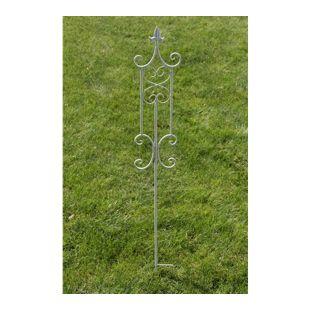 CLP Pflanzen-Rankstab AZULA aus Eisen I Rankhilfe mit einer Höhe von: 123 cm I Rankstange für Kletterpflanzen I In verschiedenen Farben erhältlich