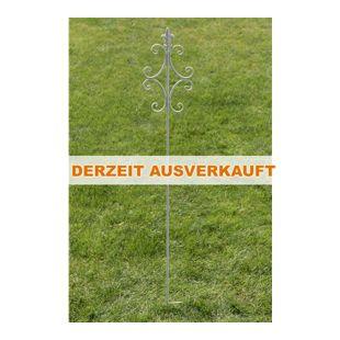 CLP Pflanzen-Rankstab BENITA aus Eisen I Rankhilfe mit einer Höhe von: 148 cm I Rankstange für Kletterpflanzen I In verschiedenen Farben erhältlich