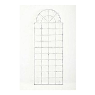 CLP Wand-Rankgitter VIVA mit Rahmen I Rankgitter aus Eisen zur Wandbefestigung I In verschiedenen Farben erhältlich