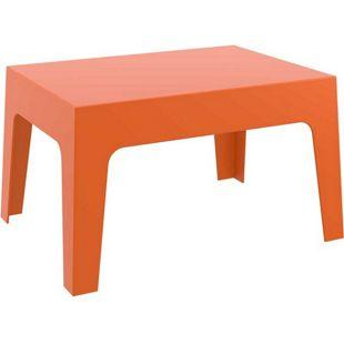 CLP Gartentisch BOX aus Kunststoff I Stapelbarer Beistelltisch mit einer Höhe von: 43 cm I Wetterfester Outdoor-Tisch I In verschiedenen Farben verfügbar