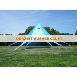 CLP Sternzelt für den Garten I Event-Zelt mit 10 Meter Durchmesser I Gartenzelt mit einer überdachten Fläche von ca. 15 m² I In verschiedenen Farben erhältlich