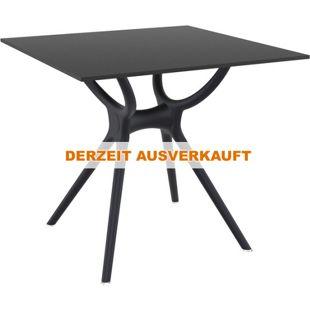 CLP Tisch AIR I witterungsbeständiger und robuster Gartentisch I hochwertige Materialien