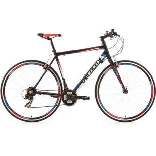 KS Cycling Fitnessrad 21 Gänge Fitness-Bike Velocity schwarz 28 Zoll