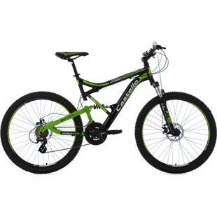 KS Cycling 26 Fully Mountainbike 21 Gänge Castello HTX