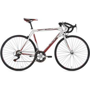 KS Cycling 28 Zoll Rennrad 14 Gänge Shimano Schaltwerk Piccadilly weiß