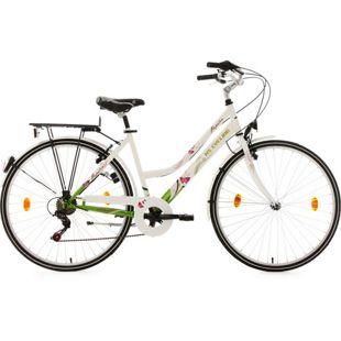 KS Cycling Cityrad 6 Gänge Damenfahrrad Papilio 26 Zoll