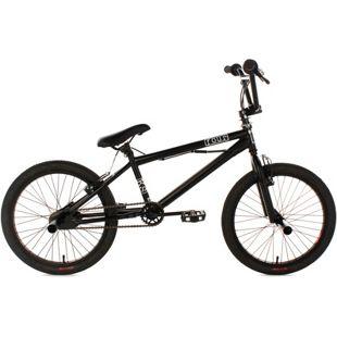 KS Cycling BMX Freestyle 20'' Four schwarz