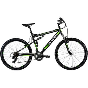 KS Cycling Fully Mountainbike Slyder 26 Zoll