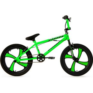 KS Cycling 20 Zoll Freestyle BMX Cobalt grün