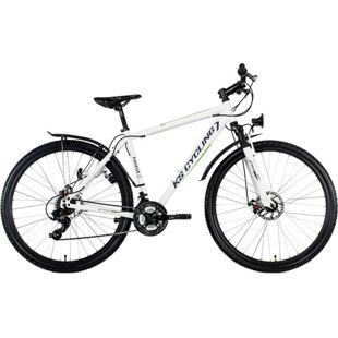 """KS Cycling Mountainbike Hardtail ATB Twentyniner 29"""" Heist weiß-grün"""